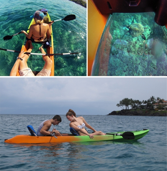 Clear Kayaks Maui