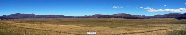 Valle Grande at Valles Caldera